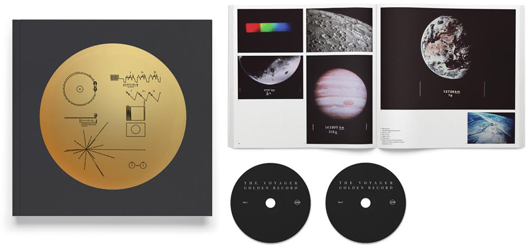 Image of VOYAGER GOLDEN RECORD BOOK/2xCD